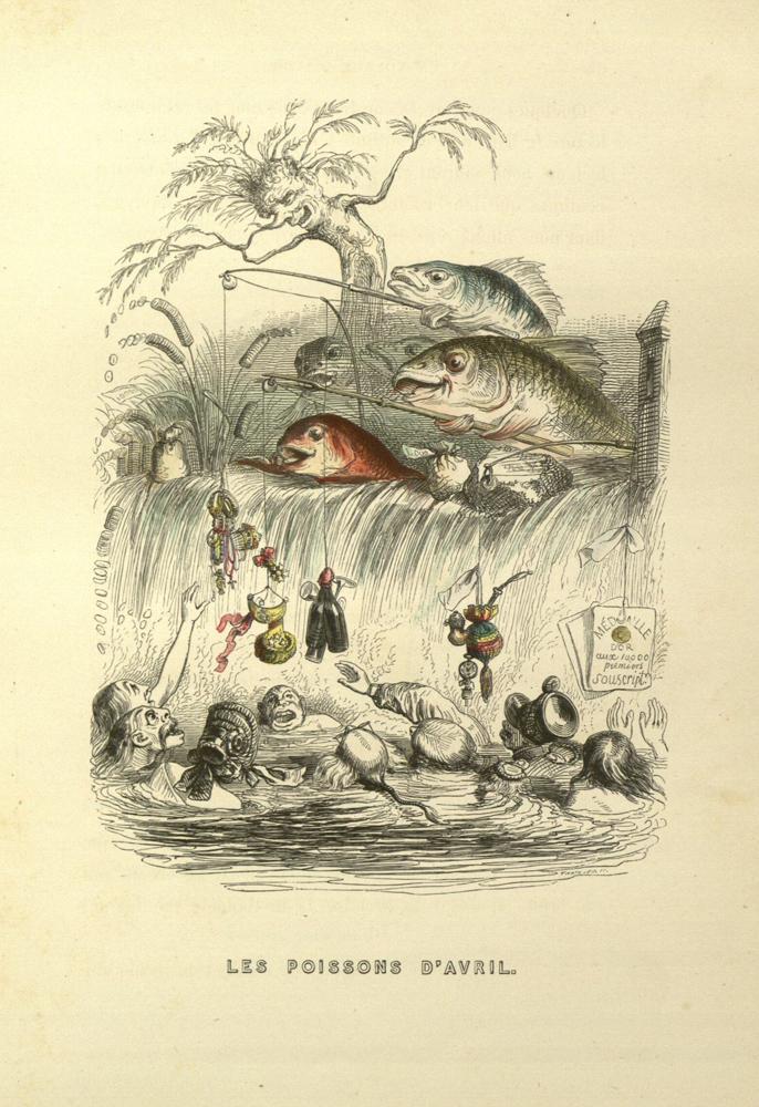 Les poissons d'avrils